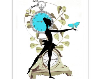 What Time is it 1 - ART Print 8 x 10""