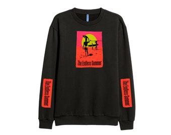 The Endless Summer SURF sweatshirt sweater RETRO 90s Big logo