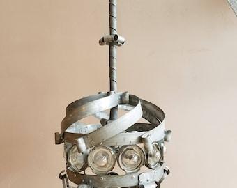 Wine Barrel Lighting THORN HOLLOW Handmade Whirligig Pendant Style Chandelier