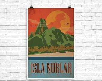 Isla Nublar Poster 24x36