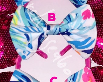 Lilly Pulitzer Tippy Top bow