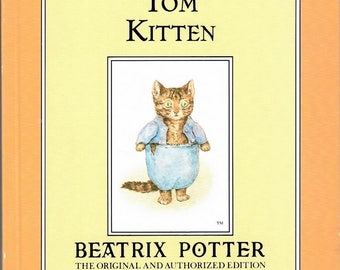 Vintage Beatrix Potter Book - The Tale of Tom Kitten - Softcover, 1991, Bitcoin Accepted