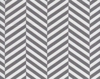 Grey Baby Bedding - SALE CRIB SHEET / Herringbone Changing Pad Covers / Gray Mini Crib Sheet / Grey Bedding / Fitted Baby Sheet