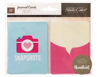 Jounal Cards by Studio Calico, Project Life, Smashbook, Junk Journal Stash, Scrapbook Journal Cards