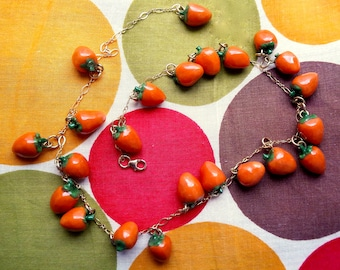 Persimmon Necklace