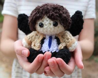 Castiel Supernatural Crochet Doll