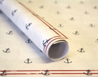 3 x gift paper anchor 50 x 70