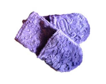 Paisley Spa Mitts