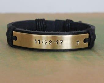 Personalized Mens Bracelet, Mens Bracelet Bead, Custom Bracelet Personalize, Custom Bracelet,  custom bracelet men, Custom Silvery Bracelet