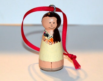 Customizable Sister Missionary Ornament