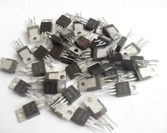 Scrap electronics Electric components Electronic components  Vintage Transistor КТ837f  50 pieces