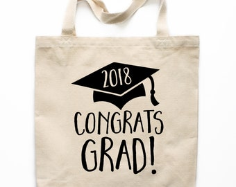 Graduation Tote Bag, Canvas Tote Bag, Graduation Gift Canvas Bag, Printed Tote Bag, Market Bag, Shopping Bag, Reusable Grocery Bag 0114