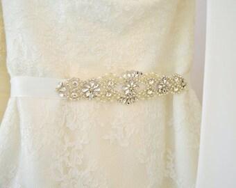 Bridal Sash Wedding Belt Sash Rhinestone Wedding Gown Belt Sash Bridesmaid Sash belt Crystal Dress Belt, Wedding sahs