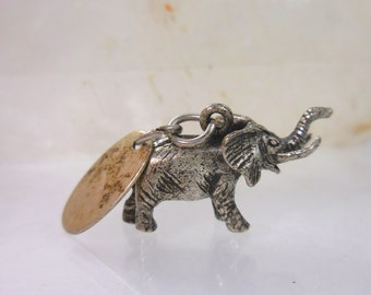 Sterling Silver Elephant Pendant Great Adventure