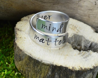 Mind Over Matter Wrap Ring