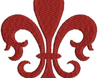 Fleur-de-lis Embroidery Designs