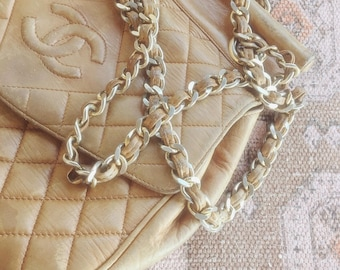 Vintage Chanel Bag with Gold Hardware