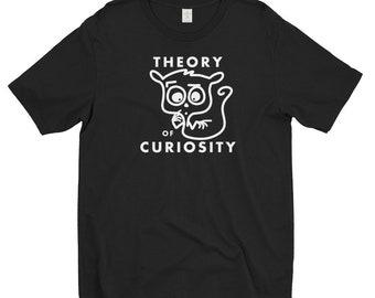 Theory of Curiosity men's t-shirt