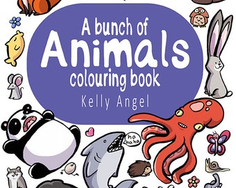 A Bunch of Animals Colouring Book - DIGITAL VERSION *SALE*