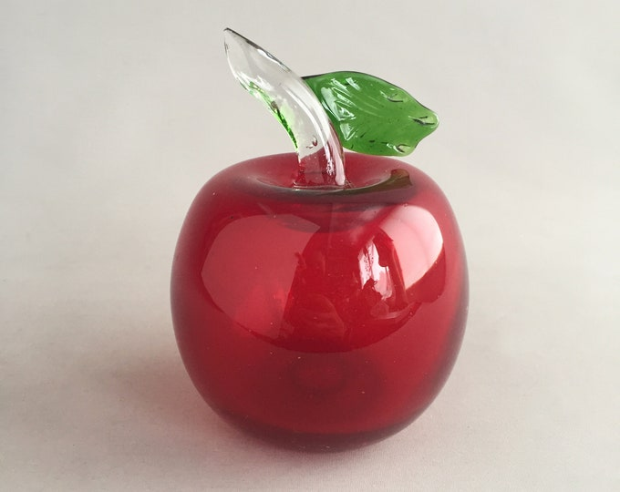 Large Glass apple