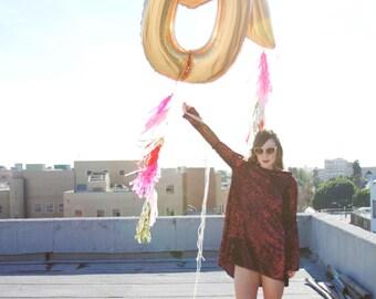 XO Foil Balloons // Wedding Balloons / Letter Balloons