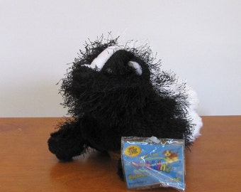 Skunk Puppet with Tag by The Puppet Patch