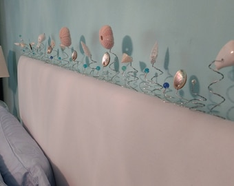 Seashells - 2 Dozen Starfish and Shell Stems - Home Decorating