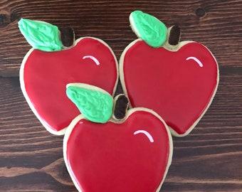Red Apple Cookies