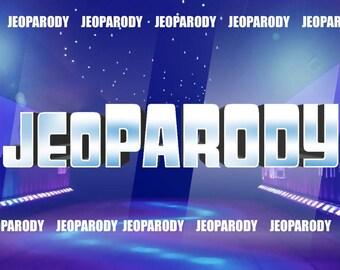 Customizable Jeopardy Powerpoint Template