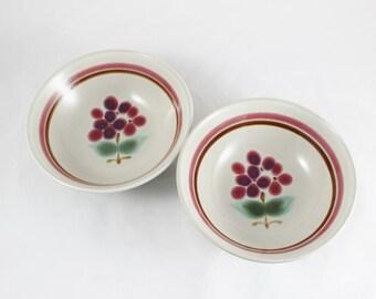Noritake Junebuds Pair of Soup Bowls