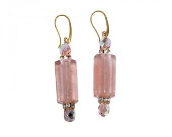 """Earrings """"Pink Romance"""""""
