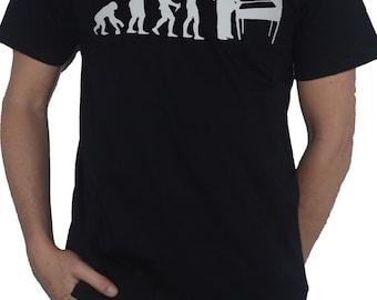 Pinball Evolution of Man T-Shirt (ape to man)