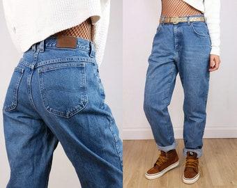 LEE Vintage 90's LEE High Waist Tapered Leg Mom Jeans