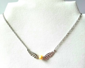 Harry Potter Inspired Golden Snitch Necklace