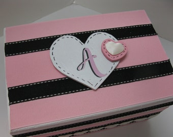 Recipe Box Of Love and to be used later on as Jewelry/Trinket box