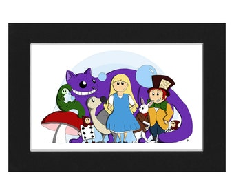 Alice & Friends - Limited Edition Print