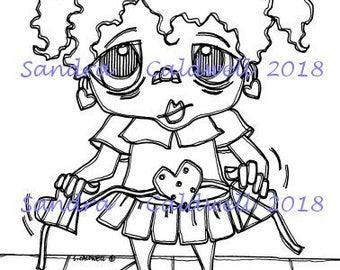 2071 Hopscotch Love Digi Stamp