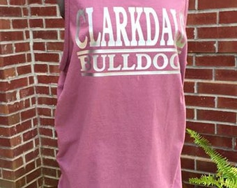Comfort Colors School Spirit Tank Tops - Any Color.  Any School