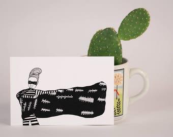 Cactus Cape Bandit-Postcard