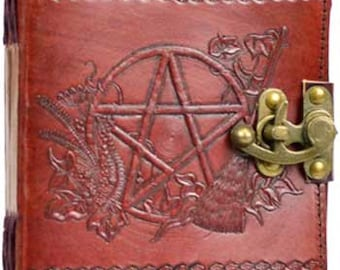 Leathered Tooled Blank Journal/scrapbook