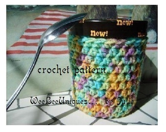 crochet pattern digital download ice cream sock