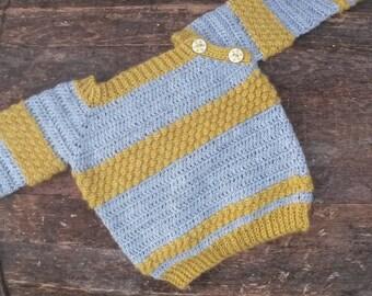 CROCHET PATTERN: SkagerrakSweater