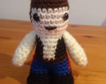 Han Solo Star Wars crochet figure