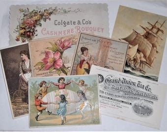 Victorian Trade Cards, Baker's Dozen of Cards
