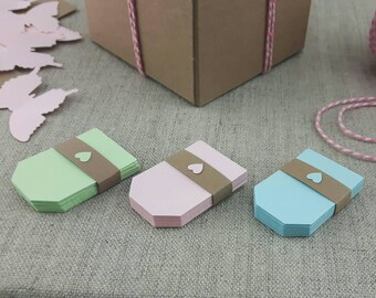 Baby Shower Tags, Gift Tags, Spring Tags, 25 pcs PICK YOUR COLOR, Wedding Tags, Party Favor Tags, Favor Tags, Jar Tags, Product Tags