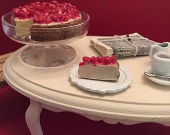 Miniature Cheesecake Polymer Clay