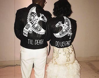 JUST MARRIED Leather Jackets