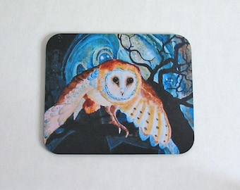 Mousepad Owl Night Guardian 1