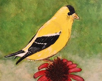 Cute little birdie #10 - 6 x 6