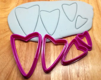 Cutter Set #40 / Polymer Clay Shape Tools / Polymer Clay Cutters / Cutting Tools / Clay Cutters